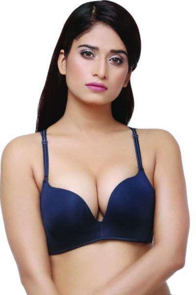 Ellixy 1 Level Push Up T-Shirt Bra With Butterfly Back Design