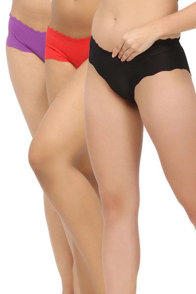No Line Panty With Mid-Waist Cambo