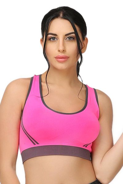 Ellixy High Impact Sports Bra With Wide Straps